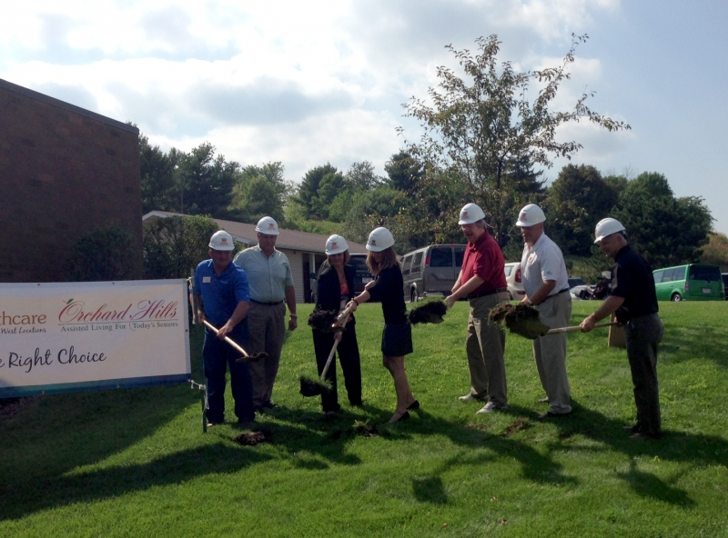 Dove Healthcare Expansion Breaks Ground