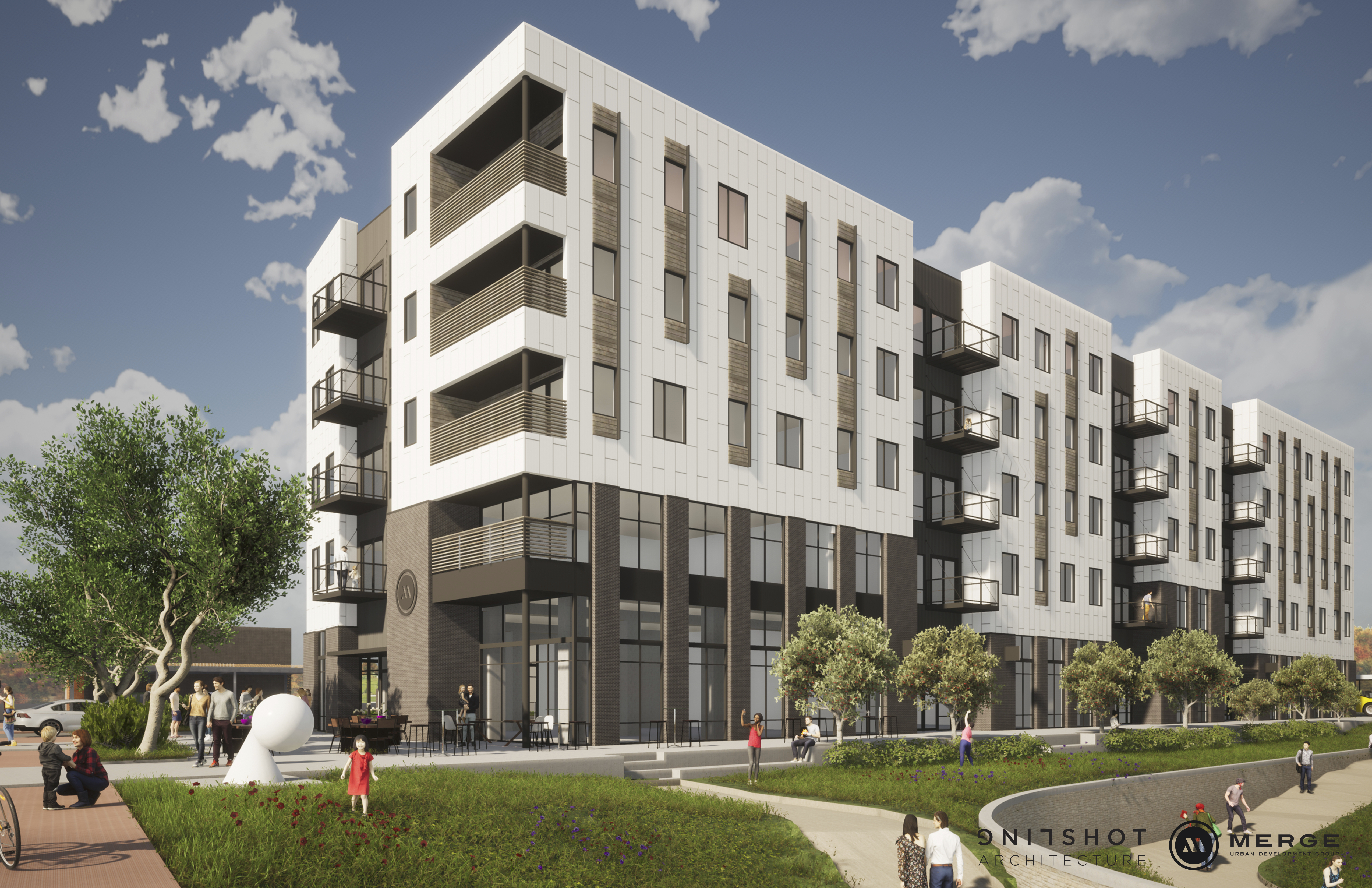 Merge Andante Mixed-Use Building Downtown Eau Claire