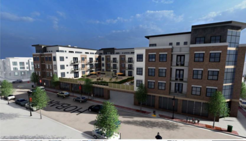 Residential renderings block 7 downtown eau claire, wisconsin